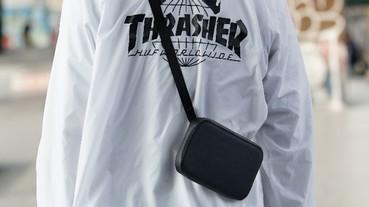 讓你輕鬆出門簡單時尚的防水錢包 -「Urban Wallet 肩背錢包」