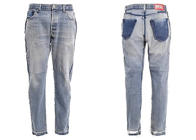 DIESEL RED TAG x READYMADE Narrow Jeans(互聯網)