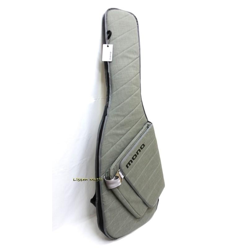 【立昇樂器】MONO Bass Sleeve M80系列 電貝斯袋 防刮耐磨防潑水 M80-SEB-ASH 灰色