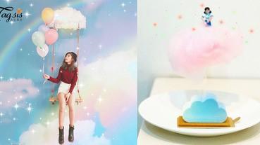 吃得的小雲朵!台中的甜點打卡店,夢幻的天空甜點令你的少女心大融化〜