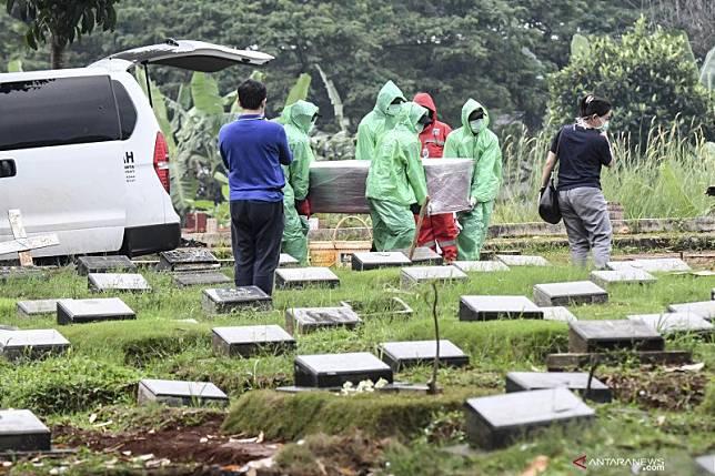 DKI makamkan 639 jenazah sesuai prosedur COVID-19