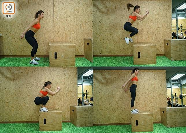 Box Jump(胡振文攝)