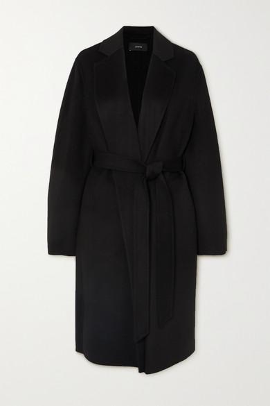 黑色羊毛羊绒混纺面料 - 套穿款 - 80% 羊毛,20% 羊绒 - 干洗 - 天气转凉时,Joseph 这款触感柔软、分量适中的