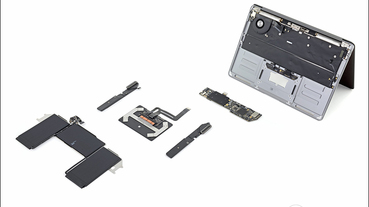 iFixit 拆解 MacBook Air 2020,搭載全新巧控鍵盤可修復性評分 4 分(較上代機型提升 1 分)