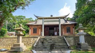 2019苗栗海線景點【虎頭山通霄神社】日式神社