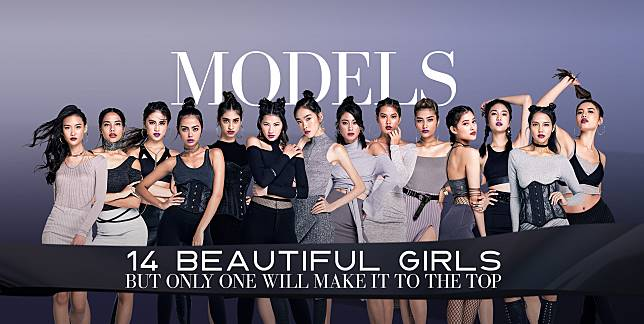 Model Kembar Asal Indonesia Eksis di Asia's Next Top Model 2017