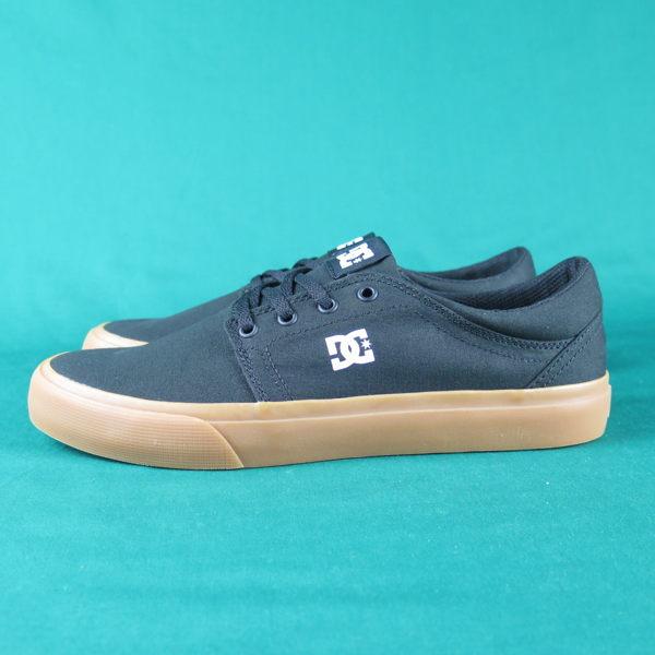 【iSport愛運動】 DC 滑板鞋 公司正品 300126BGM 膠底 黑 男款