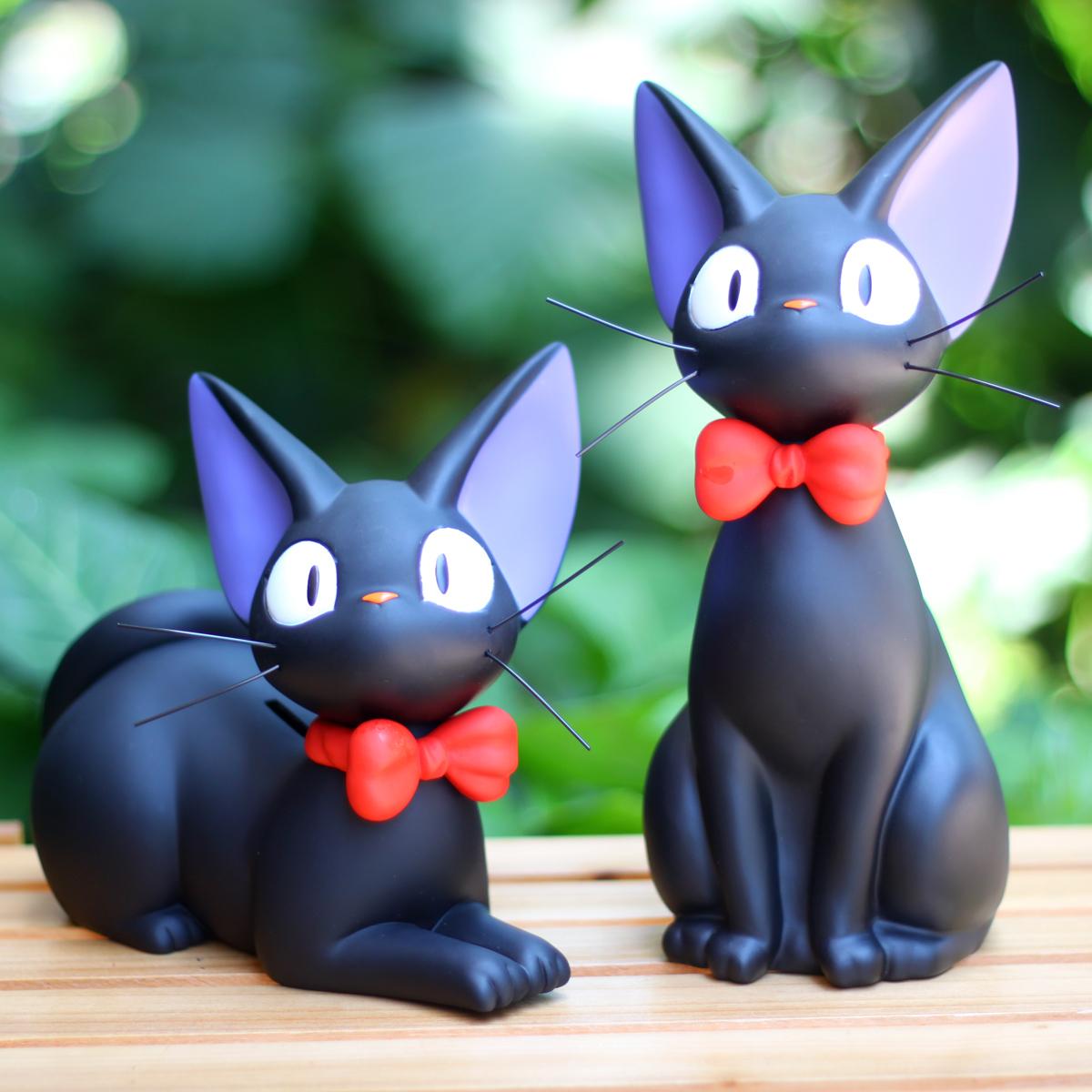 宮崎駿吉卜力 魔女宅急便 黑貓吉吉琪琪存錢罐 貯金箱擺件公仔