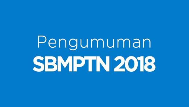 Hasil Seleksi SBMPTN 2018 Panlok Bogor