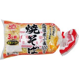 北海道産小麦100%使用アルプス焼そば