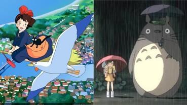 宮崎駿的作品輸不了!「吉卜力工作室」電影作品排行榜出爐