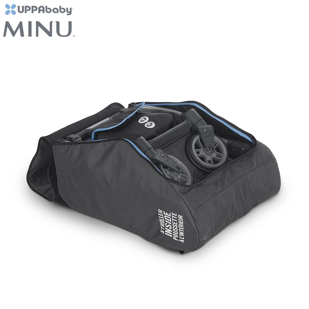 只適用於 『UPPAbaby MINU 款推車』● 旅行袋可以保護您的 MINU,讓您旅遊時更便利● 線上註冊旅行袋,MINU 在航空旅行期間所造成的損害,都由旅行保險計畫提供保固● 3年保固● 收納