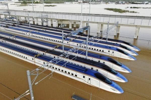 รถไฟโฮคุริคุชินคันเซ็นที่จมน้ำอาจสร้างความเสียหายมากถึง 32,000 ล้านเยน