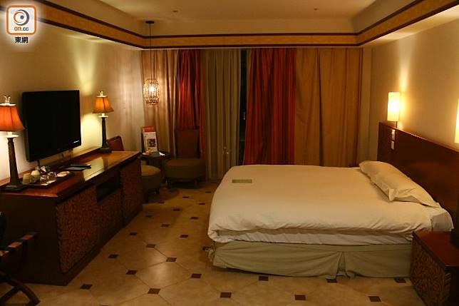 酒店是東台灣第一家國際級溫泉度假旅館,客房多達183間。(劉達衡攝)