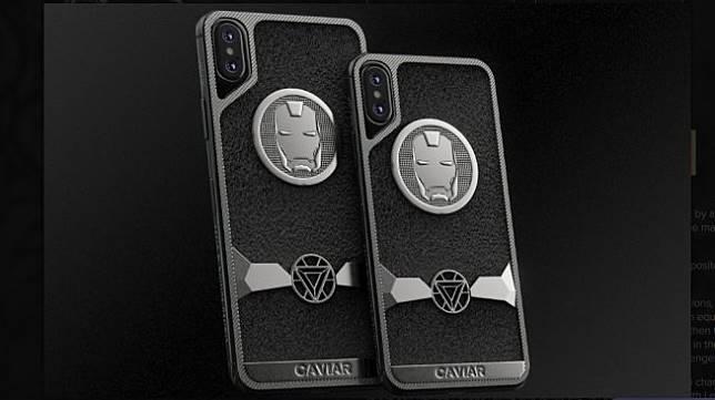 Tampang iPhone 11 versi Iron Man dari Caviar. [Dok Caviar Royal Gift]
