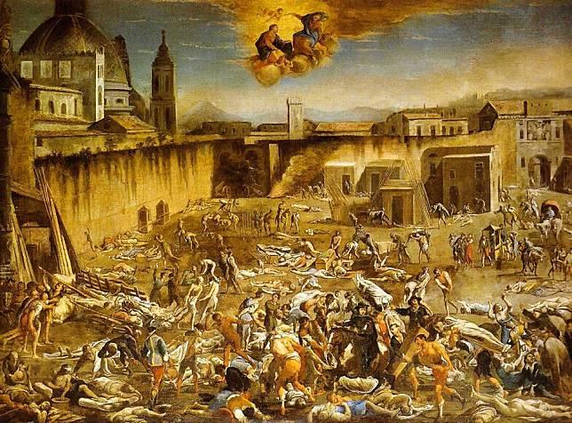 Wabah penyakit di Naples / wikipedia
