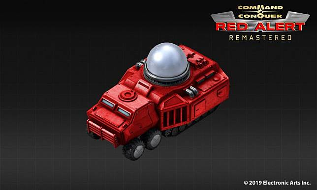 EA เผยภาพ Tesla Tank ของ RED ALERT ฉบับ Remastered
