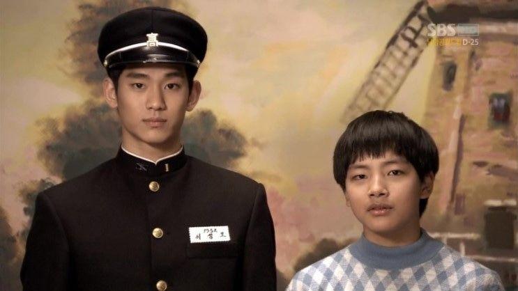 在《Giant》裡,金秀賢和呂珍九飾演主角小時候,兩人是一對兄弟。當時呂珍九只到金秀賢肩膀左右,還只是個小男孩,沒想到現在都和金秀賢一樣高了。