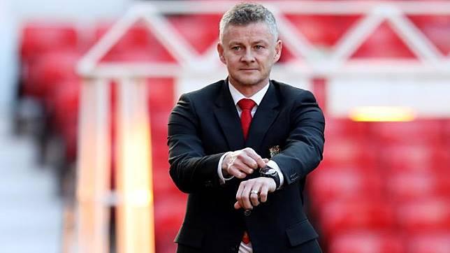 Pelatih Manchester United Ole Gunnar Solskjaer. REUTERS/Jon Super