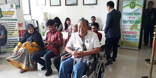 Abd. Mukti digugat anaknya sendiri karena masalah perusahaan yang dijalankan (Foto: Portal Makassar)