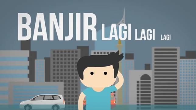 Udah ngga bisa dihitung lagi banjir di Jakarta, nampaknya banjir udah jadi 'semacam' acara tahunan di Jakarta apalagi setiap musim penghujan tiba..
