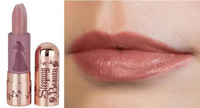 Sleeping Beauty Pink唇膏($192),帶來半霧面的妝感。