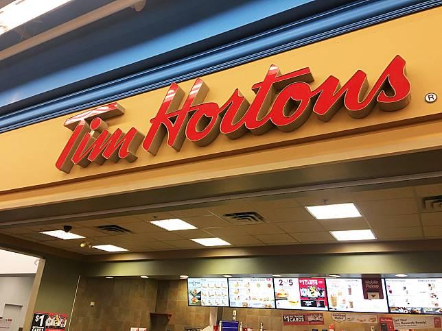 Tim Hortons在加拿大擁有超多分店,而且價錢便宜,成為當地人最喜歡的快餐店。