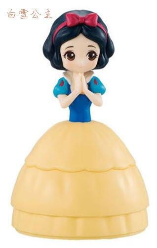 白雪公主/灰姑娘/仙杜瑞拉/辛蒂瑞拉/美女與野獸/貝兒/迪士尼/Disney/公主/造型轉蛋