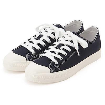[MUJI無印良品]撥水加工有機棉舒適休閒鞋
