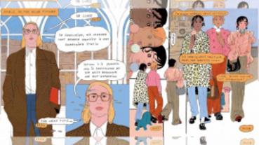 Gucci Mx無性別系列終於上線,還找來知名漫畫家合作一系列校園漫畫