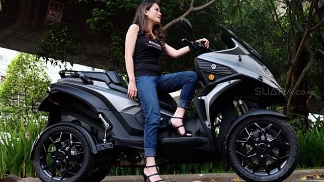 Qooder, sebuah kemewahan roda empat dalam bungkus tunggangan roda dua [Suara.com/Manuel Jeghesta Nainggolan].