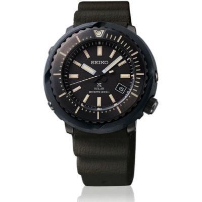 原廠公司貨 SNE543P1 街頭最酷風格小鮪魚潛水錶 太陽能機芯,200米防水 料號:V157-0DD0SD