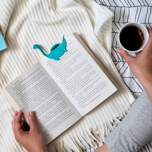 徜徉在書海中的尼斯 愛探險的尼斯離開了家鄉,游到書海裡,與你一同閱讀 翻開有他在的那一頁,與他一同前進
