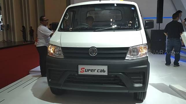 DFSK Super Cab dipamerkan di GIIAS 2019. [Suara.com/Tivan Rahmat]