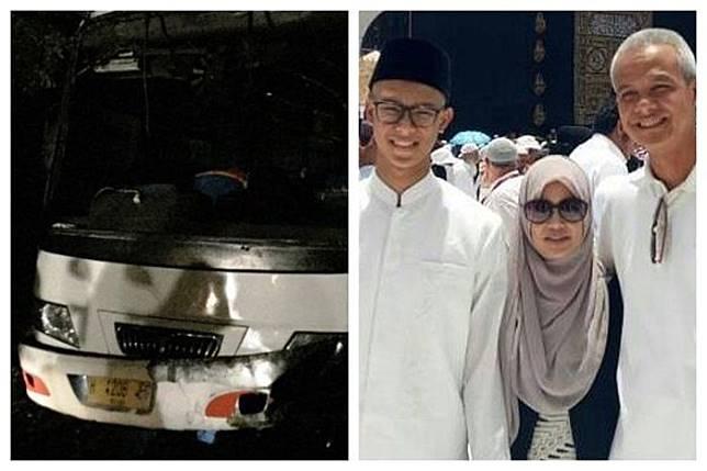 Bus siswa SMAN 3 Semarang terguling, begini kondisi putra Gubernur Jawa Tengah, ganjar Pranowo