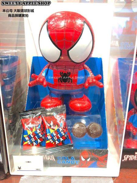 (現貨&樂園實拍) 大阪環球影城 漫威系列 蜘蛛人 公仔收納桶 (此商品不含糖果,純新空桶喔!)