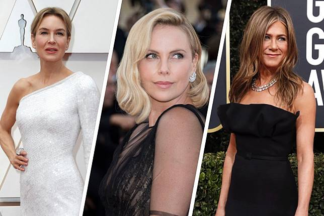 Jennifer Aniston, Charlize Theron, Gwyneth Paltrow, Renée Zellweger - dedicated Hollywood actresses who 'got fat' or lost the make-up to play a character