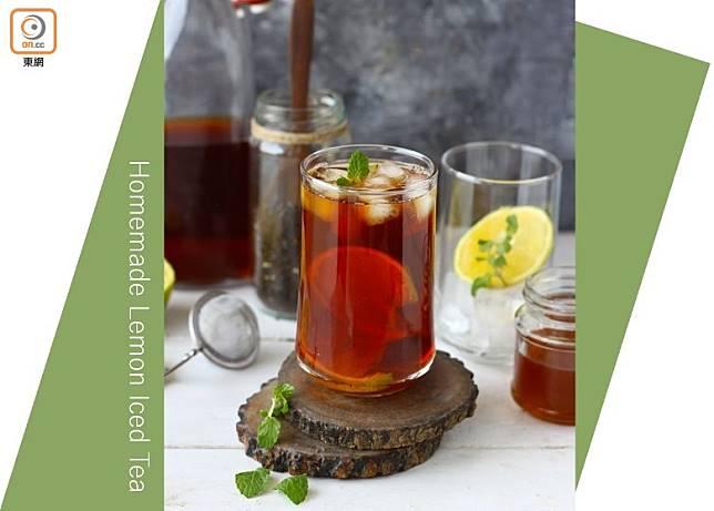 完美的凍檸茶,酸甜有致,還有淡淡茶香。(互聯網)
