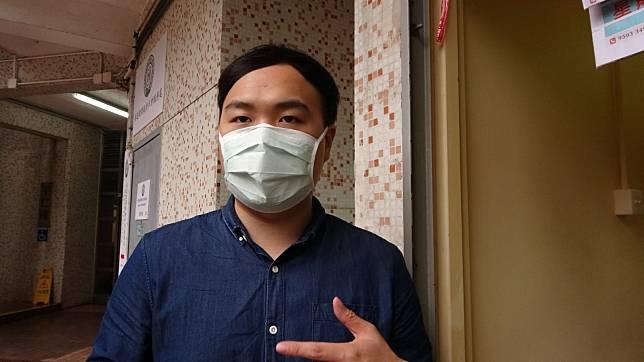 區議員陳易舜呼籲居民出入小心及留意陌生人。