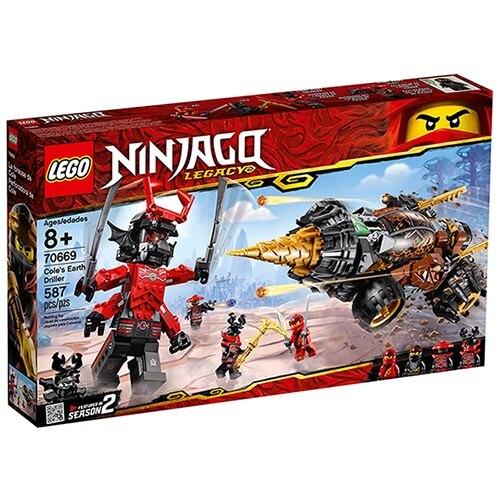 樂高LEGO 70669 NINJAGO 旋風忍者系列 -阿剛的鑽土機