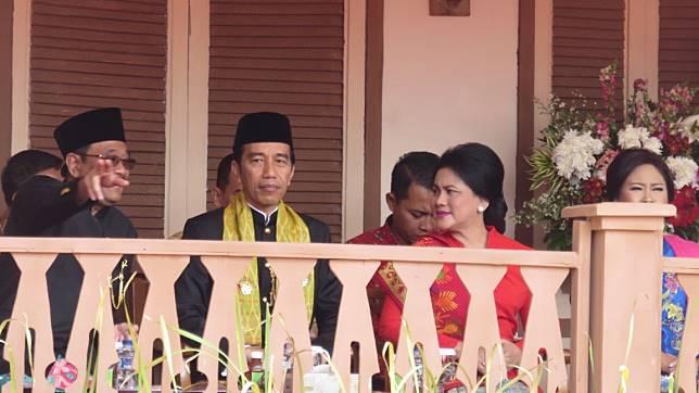 Di Depan Jokowi, Djarot Tegaskan Tolak Wacana Pemindahan Ibu Kota