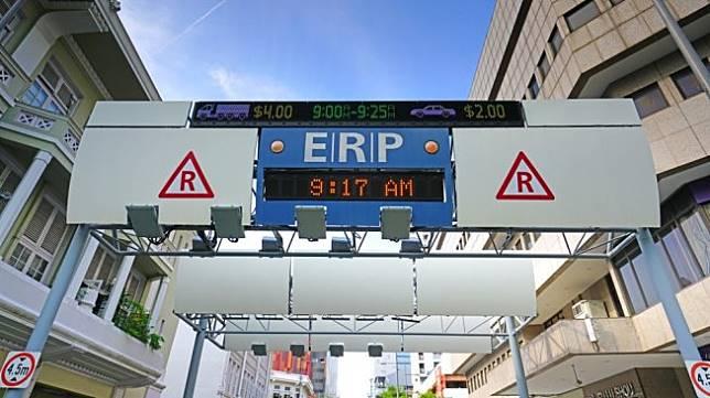 Salah satu ERP yang ditempatkan tak jauh dari kawasan Chinatown, Singapura [Shutterstock].