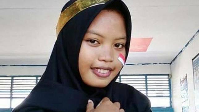 Rosmita, Siswi SMK di Takalar yang meninggal dunia setelah kelelahan menjadi saksi parpol saat Pemilu 2019