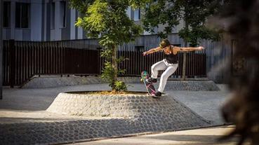 滑板女力:巴西最「型」之街滑硬派 Ligiane Oliveira