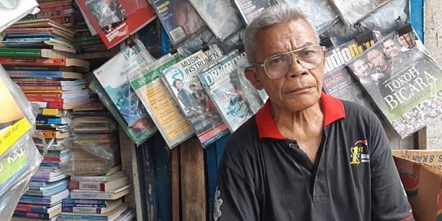 Kisah Gatot 15 Tahun Mencari Rupiah Lewat Buku Bekas dan Harapan Mulianya...
