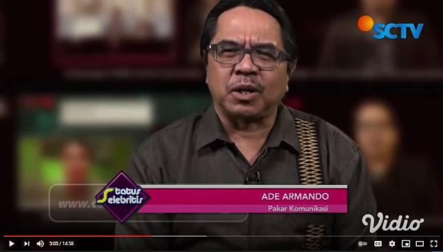 Pakar Komunikasi Ade Armando kritik kecam konten bulan madu Atta Halilintar dan Aurel Hermansyah.