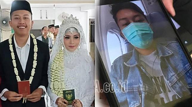 Baru Nikah 2 Minggu, Deryl Fida Jadi Korban Pesawat Lion Air JT 610, Kirim Foto Selfie Sebelum Jatuh