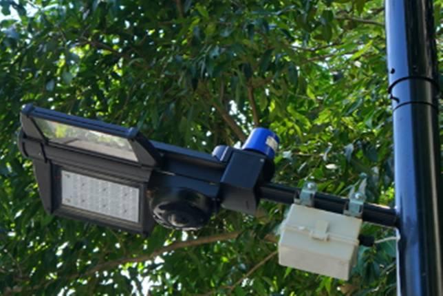 全台第一座!中華電信X Nokia在南寮漁港打造5G small cell智慧路燈