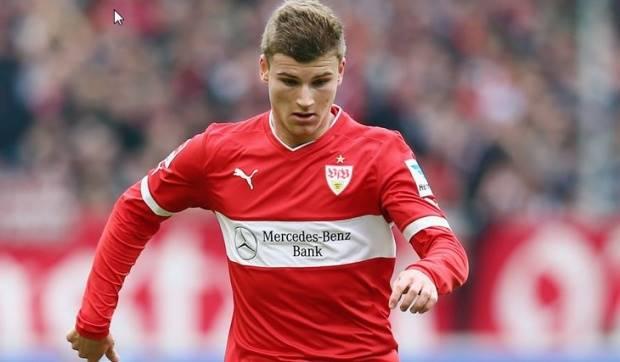 Bintang muda Leipzig, Timo Werner. (skysports.com)
