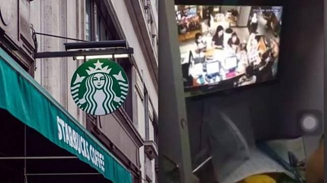 Oknum yang diduga pegawai Starbucks melakukan pelecehan seksua(pexels/Dom J & (twitter @_amrcncandy)